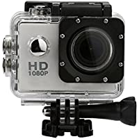 Action Camera, TONSEE Mini Waterproof Sports Recorder Car DV Action Camera Camcorder 1080P HD (Sliver)