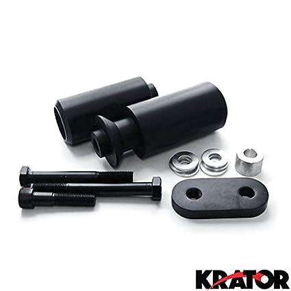 Amazon.com: Krator 2006-2007 Yamaha YZF R6 No Cut Black Frame ...