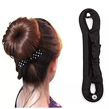 Amazon Iebeauty2 Pcs New Metal Button Wrinkled Fabric Hair