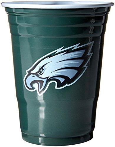 Siskiyou NFL Philadelphia Eagles Game Day Cups, 18 oz, Multicolor ()