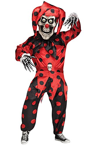 Bobble Head Evil Jester Child Costume - (Bobble Head Costume)