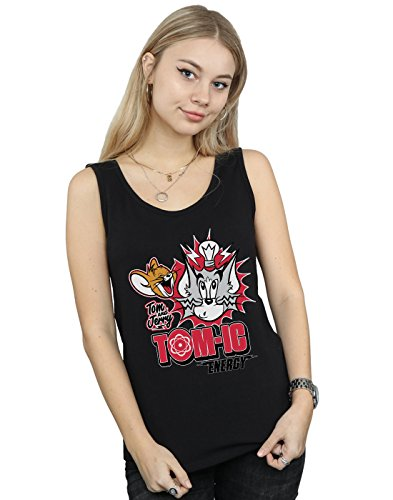 Tom Mujer Jerry Energy Top Lorenay And Negro Tank Tomic 1pxnwwPdqR