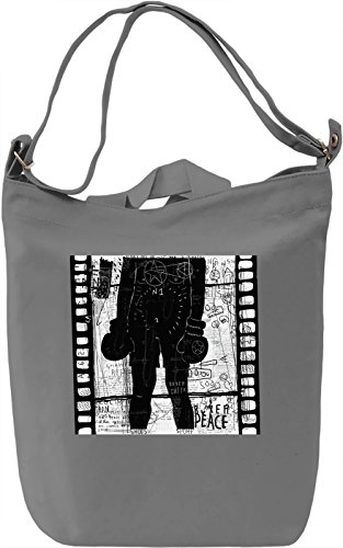 Boxer Borsa Giornaliera Canvas Canvas Day Bag| 100% Premium Cotton Canvas| DTG Printing|