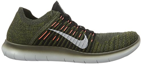 free shipping deals NIKE Men's Free RN Flyknit 2017 Running Shoe Cargo Khaki/Black-blue Glow-bright Mango buy cheap new buy cheap prices cheap 2014 newest sDWho6hTqT