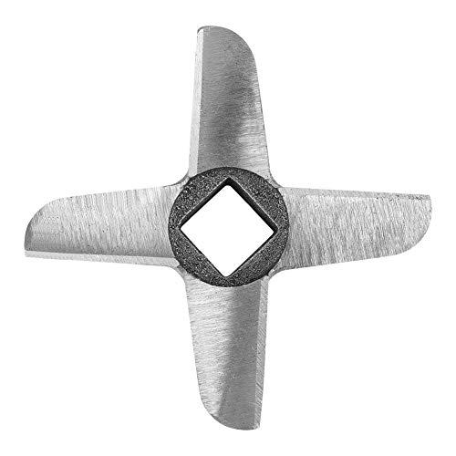 Mincer Blade Cruciform Professional Steel Kitchen Hood Meat Grinder, Grinder Blade Meat Grinder Blade, Blade Mincer Cutter Parts, Knife Cutter Replacement(No. 32)