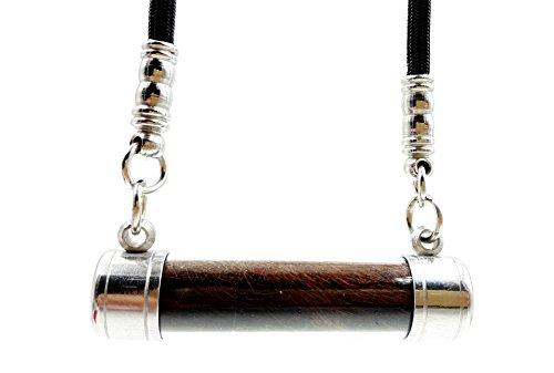 Powerful Magic Takrud Takrut Pendant Lp' Pern Bang Phra Temple with Black Rope Amulet Necklace (Isabella Elephant Costume)