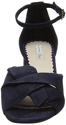 Bride Sandales Samba Bleu arrière C30 Blu Femme Blu Tosca F7qcSt1S