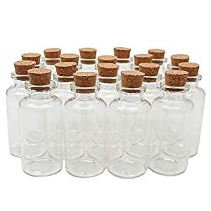 41eOilMey-L._SS300_ Large & Small Glass Bottles With Cork Toppers