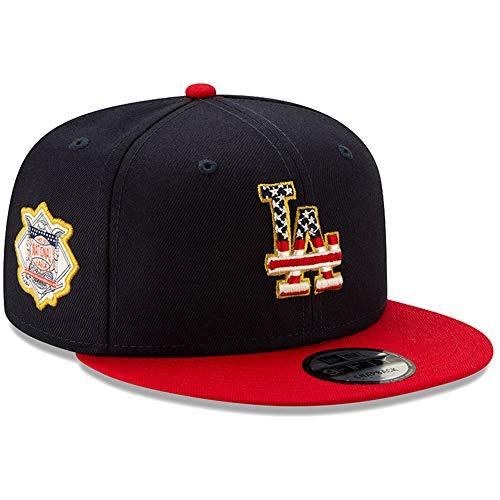 New Era Los Angeles Dodgers 2019 Stars & Stripes 4th of July 950 9FIFTY Snapback Adjustable Cap Hat