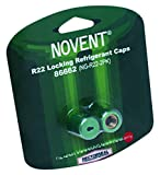 Rectorseal 86662 NG-R22 Novent Cap 2 Pack, R22, Green