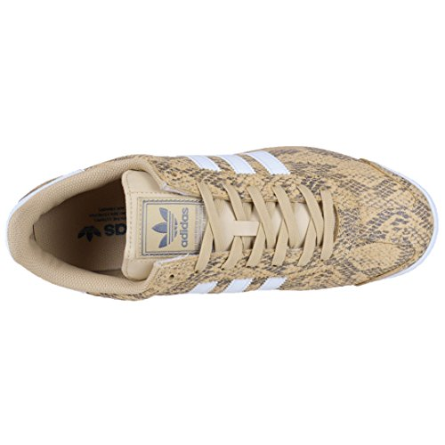 Adidas Samoa + Gele Snakeskin Print Retro Soccer Fashion Sneaker Bb8592