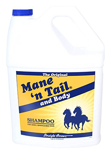 Straight Arrow Mane/Tail Shampoo for Horses, 1-Gallon