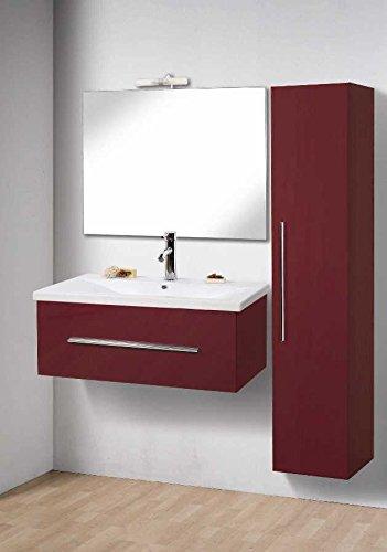 Mobile Arredo Bagno Magic cm 80 in 20 colori (anche bianco) lavabo ...