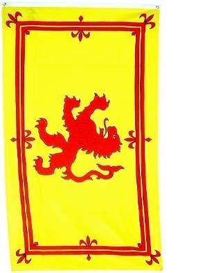 Scotland Rampant Lion Flag Polyester 3 ft. x 5 ft. -