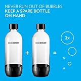 Sodastream 1l Carbonating Bottles- Black