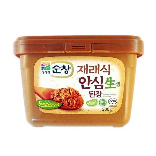 Unpasteurized Jaeraesik Soybean Paste (1.1 Lb) By Chung-jung-one ()