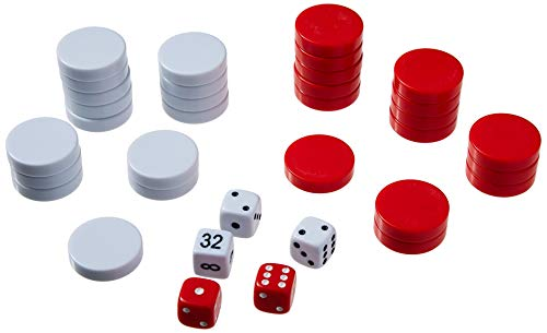 Backgammon Checkers Set 1 1/4