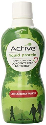 Medline Active Liquid Protein Nutritional Supplement, 30 fl oz.- 4 Count