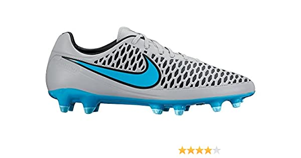 sale retailer 2e4ed b8327 Amazon.com  Nike Mens Magista Orden FG Firm Ground Soccer Cleats 8 US, Wolf  Grey Black Turquoise Blue  Sports   Outdoors