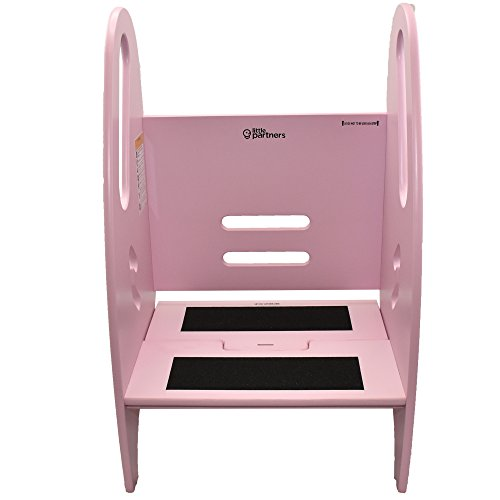 Little Partners 3 In 1 Growing Step Stool Pink Daily