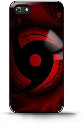 Coque iPhone 4/4S - Naruto Shippuden Uchiha Obito Sharingan logo ...