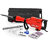 Best Electric Jacks - XtremepowerUS 2200Watt Heavy Duty Electric Demolition Jack hammer Review