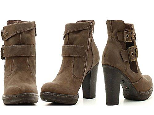 Nero Giardini P616480D Negro Calzado Botas a tobillo Zapatos De Mujer verde gris