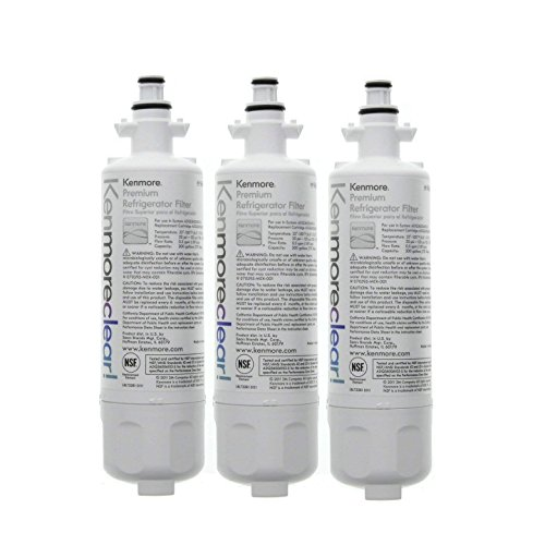 Kenmore 46-9690 Refrigerator Water Filter ADQ36006102 3 Pack from Kenmore