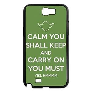 Samsung Galaxy N2 7100 Cell Phone Case Black Star Wars Yoda Uurr