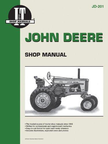 John Deere Shop Manual JD-201 (I & T Shop ()