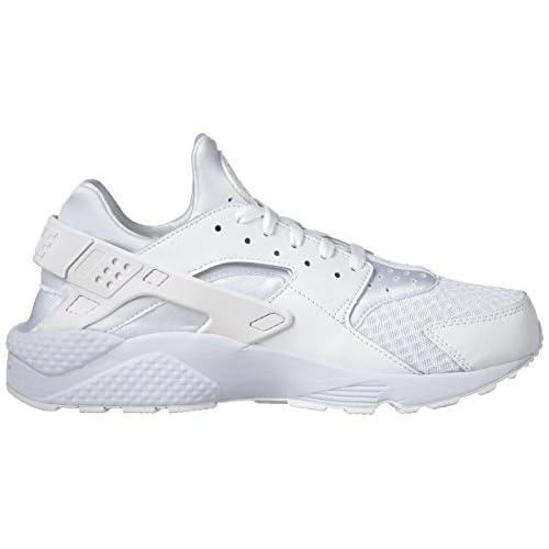 bc293189c7e77 hot sale 2018 Nike Men's Air Huarache White/White/Pure Platinum Running  Shoe 12