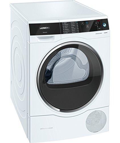 Siemens WT47U640 Independiente Carga frontal 8kg A+++ Blanco ...