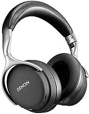 Denon AH-GC30 Wireless Noise Cancelling Kopfhörer (40 mm Treiber, Bluetooth), schwarz