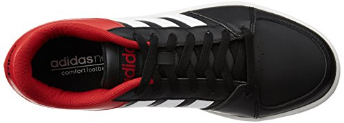Rouge Homme Black Ftwr Le Blanc Red Power White Chaussures Vs Basketball adidas Noir Noir Core Hoops pour Iw7UYnqOz