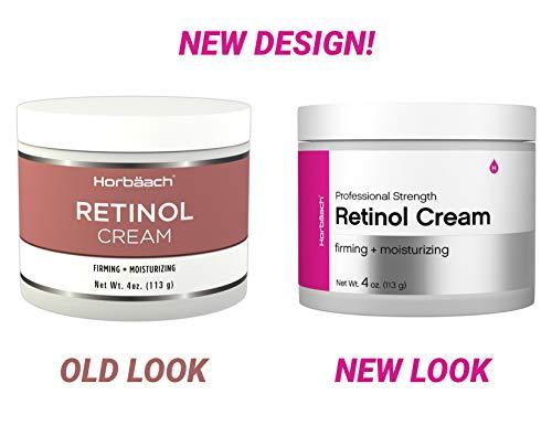 Retinol Cream for Face | 4oz | SLS & Paraben Free Moisturizer | By Horbaach