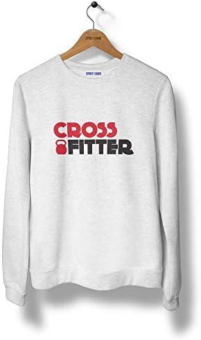 Sport is Good Sweatshirt Mixte Crossfitter