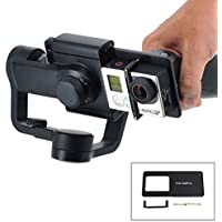 Drone Fans Gopro4 3+ Adapter Switch Mount Plate for DJI Osmo Mobile Gimbal Zhiyun Z1-Smooth 3 Axle Handheld Phone Drone Accessories