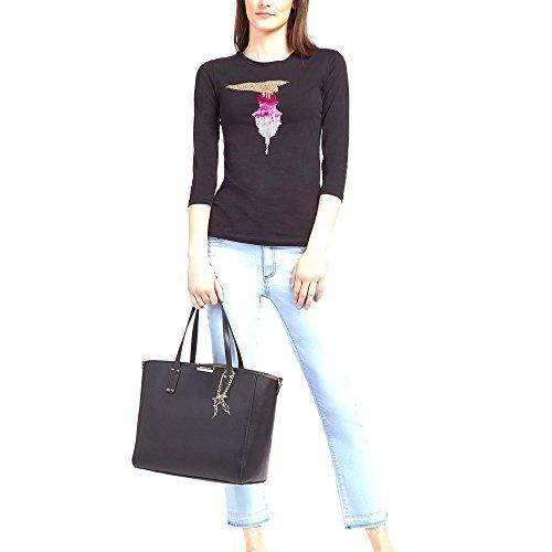 Ecoleather Trussardi Jeans Tote Borse Borsa Nero Rosemary 75b003629y099999 K29 Donna Smooth zUq1rxFz