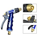 Dunnomart Copper Hose Spray Nozzle Garden Hose Water Pressure s for Garden Watering/Cars