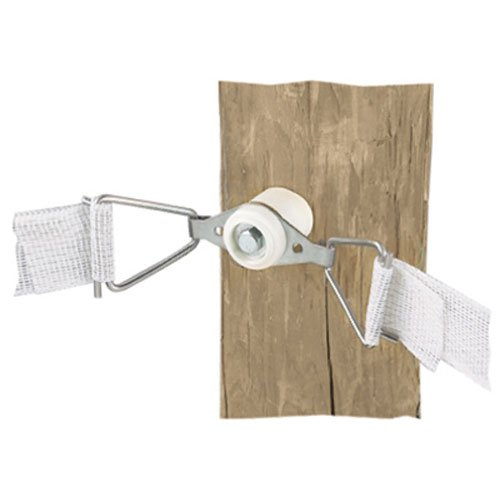 Dare Products Electric Fence - Dare PRODUCTS 2810N 831920 Electric Fence Corner Tension, (2 Pack), White