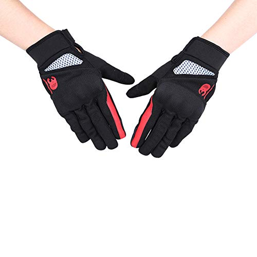 Motorcycle Gloves Unisex Glove Full Finger Motorbike Screen Touch Cycling Racing