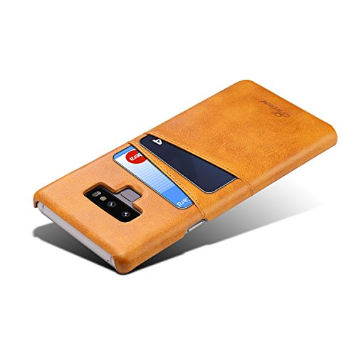 Galaxy Note 9 Wallet Phone Case, XRPow Slim PU Leather Back Protective Case Cover With Credit Card Holder for Samsung Galaxy Note 9 by XRPow (Image #4)'