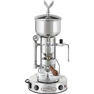 Elektra Semiautomatica SXC cromo máquina de café espresso