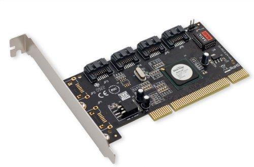 IOCrest SATA II 4 x PCI RAID Host Controller Card ()