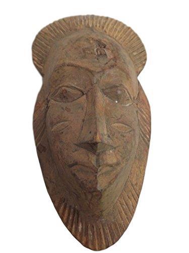 (Antique Bawule, Baule, Baoule Mask From Ivory Coast)