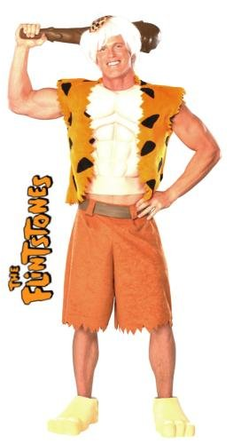 Rubie's Men's The Flintstone's Bamm-Bamm Adult Deluxe Costume, Multi, One Size -