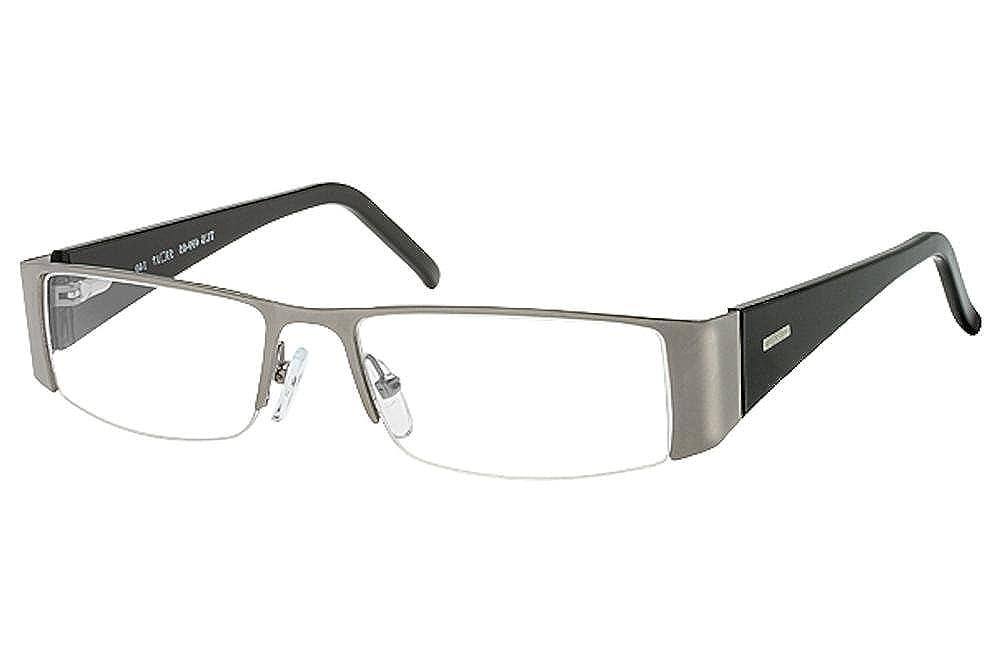 Tuscany Mens Eyeglasses 499 Half Rim Optical Frame 53mm