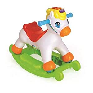 2 IN 1 ROCKING / RIDING PONY - 987