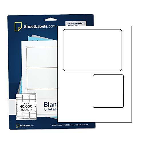 (USPS Click-N-Ship Labels from SheetLabels.com, Laser or Inkjet Printable, Easy to Peel, 50 Labels - 25 Sheets)