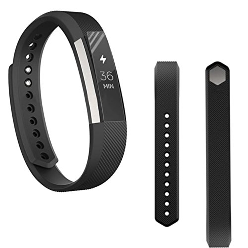 Band For Fitbit Alta HR, LUNIWEI Replacement Wrist Band Silicon Strap Clasp+Protector Film For Fitbit Alta HR - Alto Sunglasses